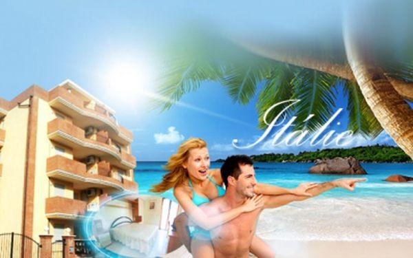 8 DENNÍ DOVOLENÁ v Itálii na Palmové riviéře již od 1 990 Kč! Autobusová DOPRAVA a ubytování v APARTMÁNECH 100 m od písčité pláže v ceně! Atraktivní turistická oblast a termíny v top letních měsících! Antický Řím na dosah!