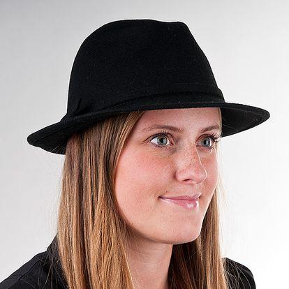 Dámský klobouk Karpet 1096, černý 57/58