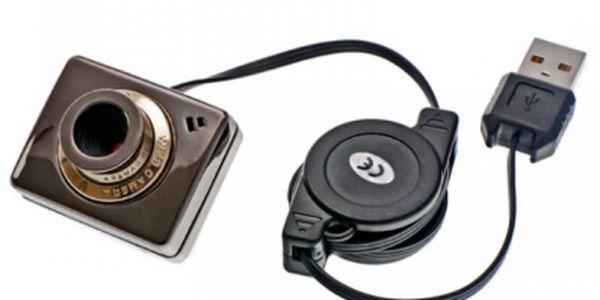 Sleva! Mini webkamera s klipsem, která je tak malá, že může být použita i jako špionážní!!