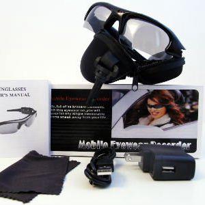 DVR brýle s mikrokamerou a fotoaparátem se slevou 53 %
