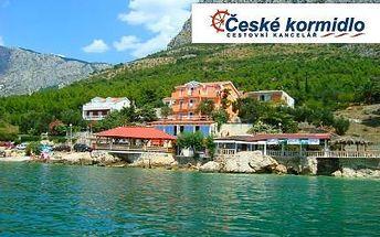 Ubytování v Chorvatsku na 7 dní včetně dopravy a polopenze!