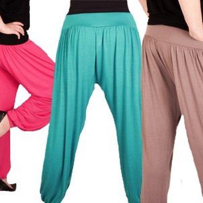 Moderní italské kalhoty harémového střihu!