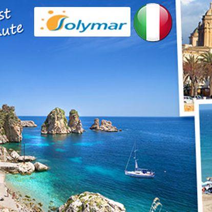 Last Minute 8denní letecké zájezdy na Sicílii