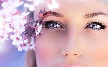 Luxusní kosmetika s líčením a barvením obočí