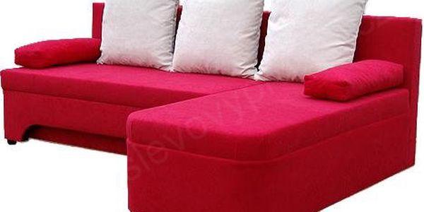 Rohová sedačka rozkládací VALERIE