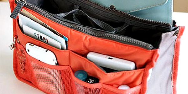 Praktický organizér do kabelky – 4 barvy