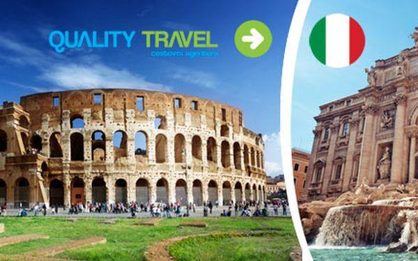 Výlet do Říma a Florencie s ubytováním a snídaní