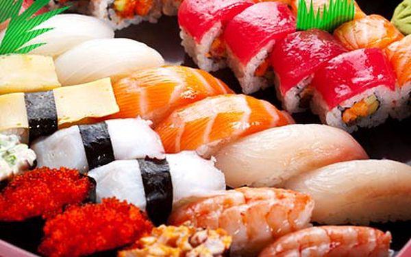 Tříchodové korejské menu s 22 ks sushi