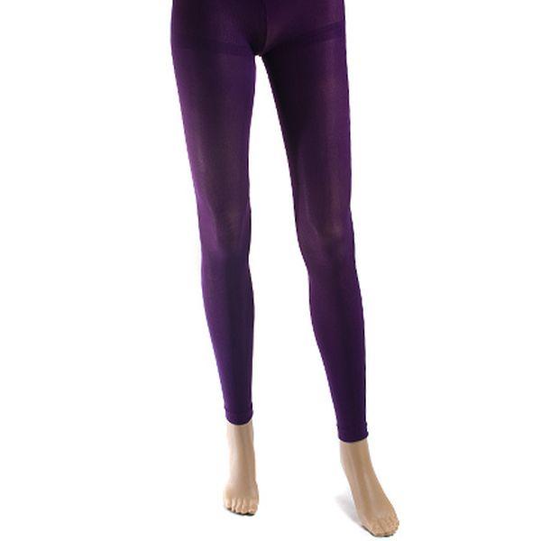 Legíny dlouhé fialové