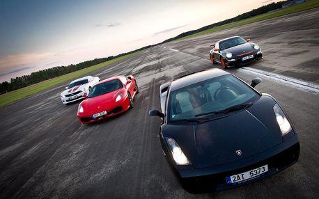 Projížďka v luxusním sporťáku, Hummeru nebo v jednom z nejrychlejších aut na světě Ariel Atom!