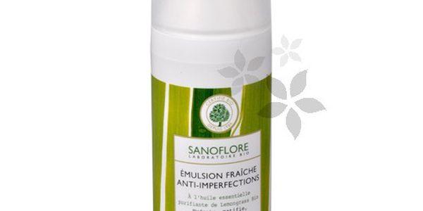 Sanoflore Svěží emulze proti nedokonalostem pleti 50 ml