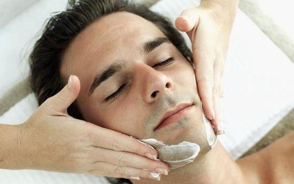 Kosmetické ošetření obličeje pro pány