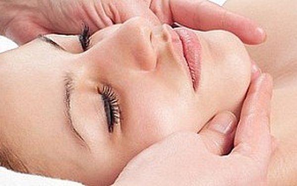 Ostrovní regenerační masáž obličeje, krku a dekoltu