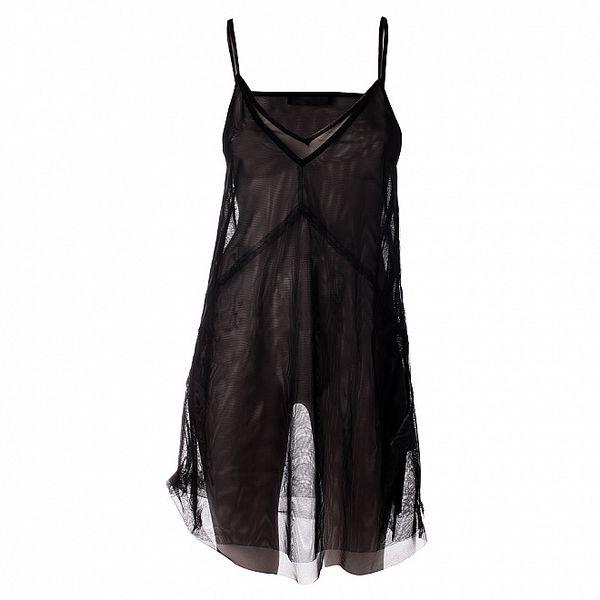 Dámská černá transparentní spodnička Twin - Set
