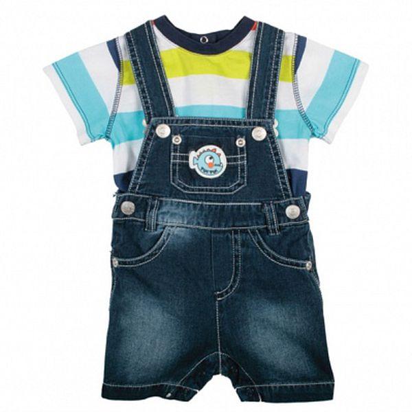 Denimové nohavice Tuc Tuc s pruhovaným tričkom