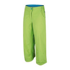 Dámské sportovní 3/4 kalhoty Alpine Pro zelené