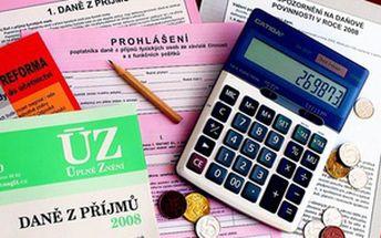 Internetový rekvalifikační kurz daňový referent - akce do 18. května