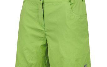 Dámské šortky Alpine Pro zelené