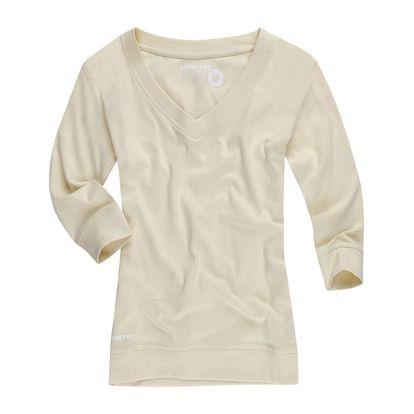 Dámské triko Alpine Pro bílé 3/4 rukáv