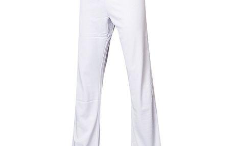 Dámské sportovní kalhoty Alpine Pro bílé volné