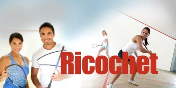 RICOCHET - moderní sport podobný squashi! Pouhých 79 Kč za HODINOVÝ PRONÁJEM KURTU! Přijďte si zahrát na jediný kurt tohoto druhu v Plzni se slevou 62%!