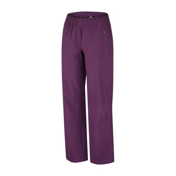 Dámské sportovní kalhoty Alpine Pro fialové