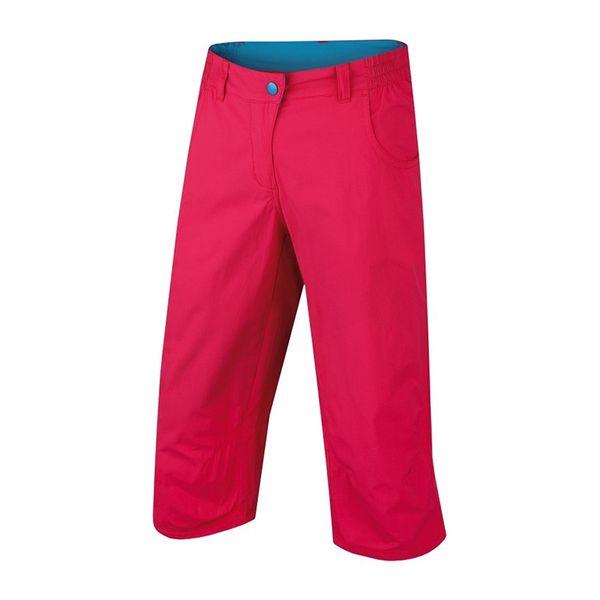 Dámské sportovní 3/4 kalhoty Alpine Pro červené