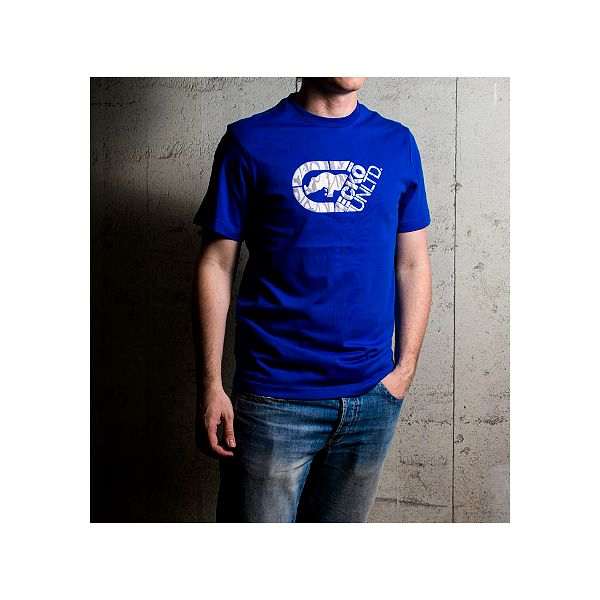 Bavlněné modré triko Cutter Weld
