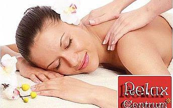 Klasická masáž ZAD, ŠÍJE a HLAVY od masérky s dlouholetou praxí