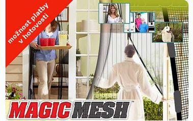 155 Kč za samozavírací síťku na dveře, nejlevněji v ČR! Otravný hmyz zůstane za dveřmi, které se samy zavřou a vy dýcháte čerstvý vzduch!