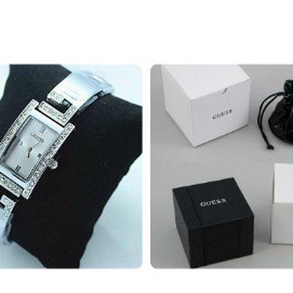 Strieborné hodinky GUESS už za 74 eur!