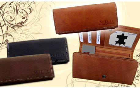 Dámská kožená peněženka Wild