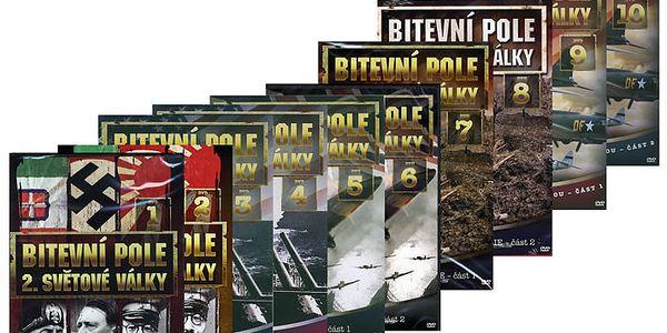 DVD Bitevní pole 2.sv.války 10DVD