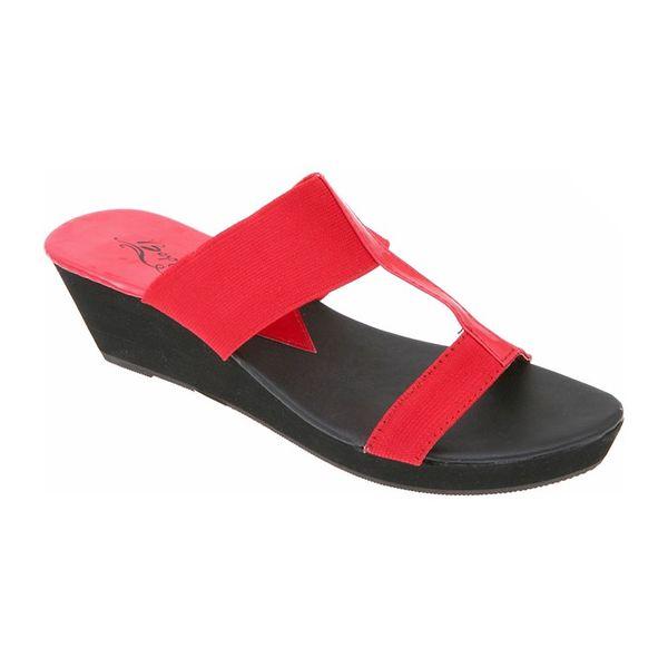 Dámské sandály Beppi černo-červené