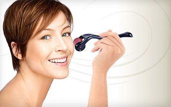 Kosmetický derma váleček pro domácí péči o pleť. Váleček je výborný pomocník pro omlazení pleti, zahojení jizev a strií, odstranění vrásek či stimulaci vlasové pokožky. Dokonce lze doporučit i k stimulaci pokožky hlavy a podpoře růstu vlasů!