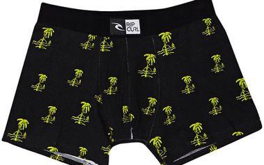 Rip Curl Black / Lime - úžasné pánské boxerky