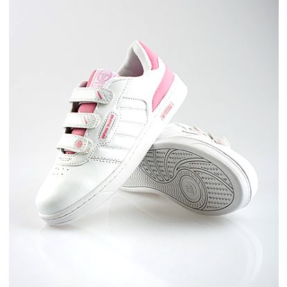 Bílo-růžové tenisky Sergio Tacchini