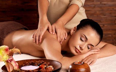 Klasická relaxační masáž zad a šíje + masáž horních končetin! 60ti minutová procedura za fantastickou cenu 190 Kč! Zbavte se stresu, bolesti hlavy nebo zad a ztuhlosti svalů příjemnou masáží se slevou 50%!