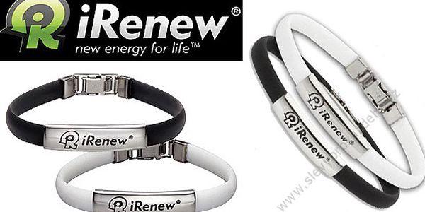 Energetický náramek iRenew®. Náramek byl vyvinut vědci, kteří přes 20 let zkoumali a sledovali energii těla. Dobijte si fyzickou i psychickou sílu.