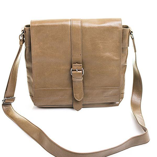 Unisex hnědá menší taška Crafty