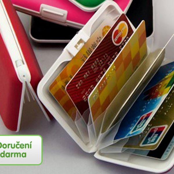 Silikonové pouzdro na doklady – 5 barev