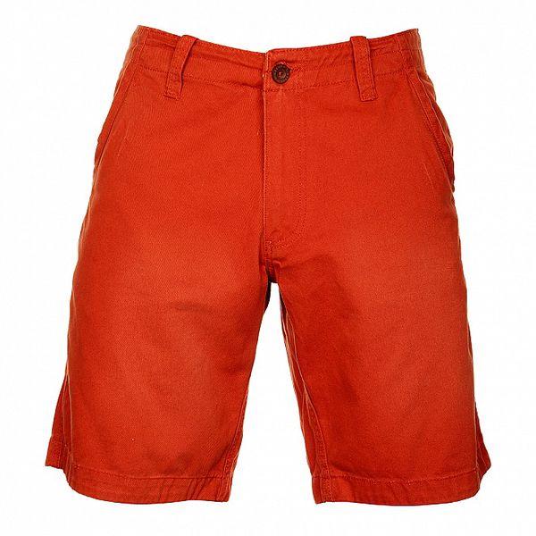 Pánske tehlovo červené šortky Timeout