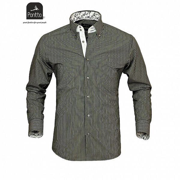 Pánska elegantná košeľa Pontto