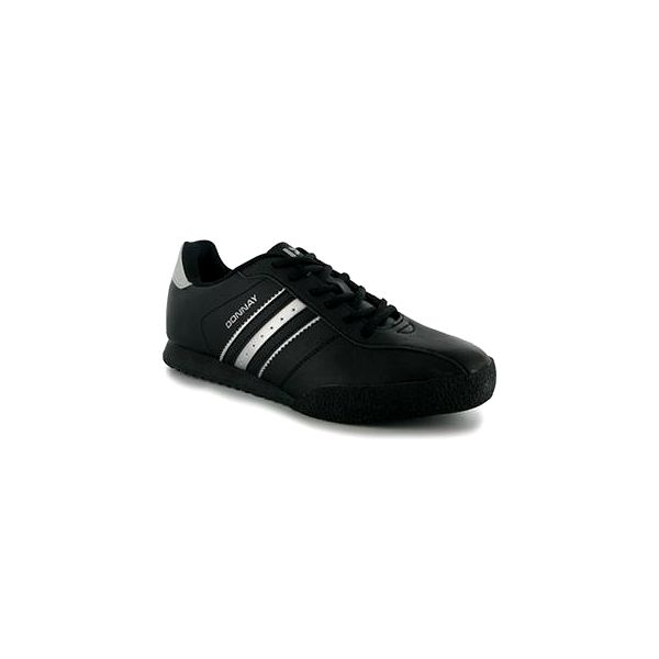 Pánské boty Donnay Rhumba. Nabízí perforované boční panely a čalouněný kotníkový límec.