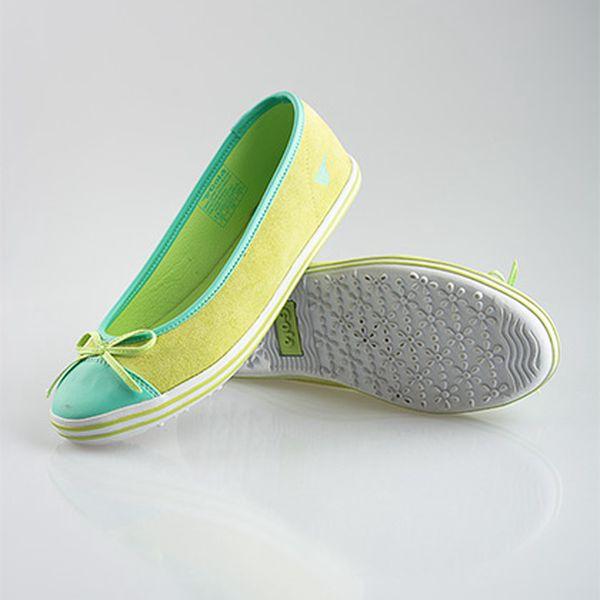 Zelené baleríny Gola