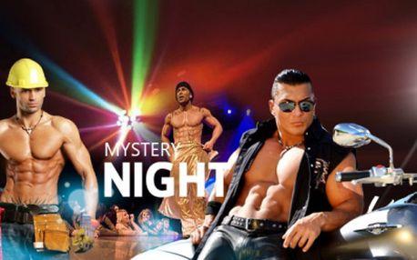 CELOVEČERNÍ PÁNSKÁ GALA STRIP SHOW PRO DÁMY za skvělých 299 Kč! Milé dámy, zapište si do diáře 15.6., přijďte na akci Mystery Night do BARRÁK music clubu a užijte si večer s nejžádanějšími muži světa s pevným zadkem! Sleva 60%!