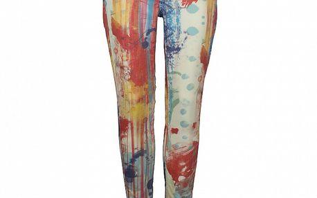 Dámske pestré pop-artové skinny Pepe Jeans