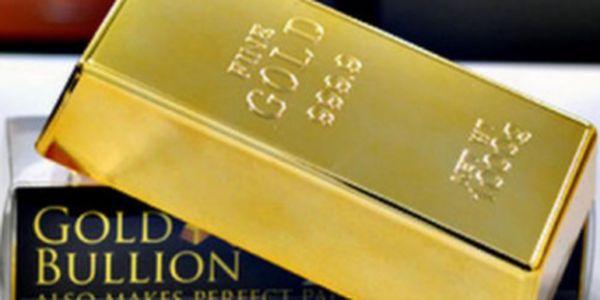 Nejlevnější zlatá cihla v historii! Pořiďte si tuto napodobeninu třeba jako těžítko nebo zarážku do dveří!