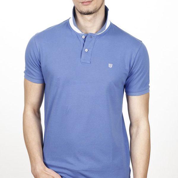 Pánske svetlo modré polo tričko Hackett