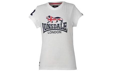 Dámské triko Lonsdale Flying The Flag Crew T Shirt Ladies